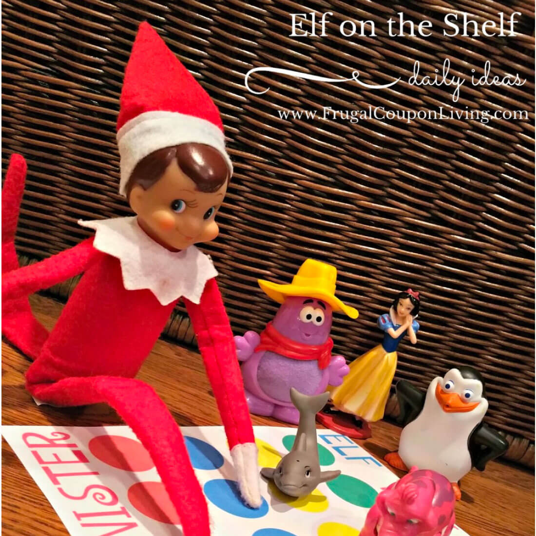 Elf on the Shelf Twister