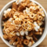 Gingerbread Popcorn Mix