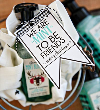 """Mint"" to Be Friends Printable Christmas Best Friend Tag"