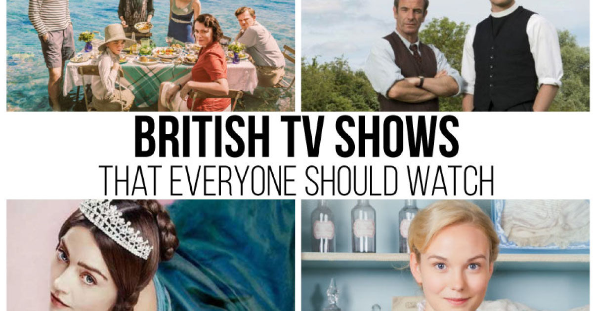 Must watch british tv shows