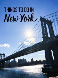 Things to do in New York - places to go, things to see, what to eat and more from www.thirtyhandmadedays.com