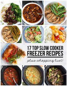 17 Top Slow Cooker Freezer Recipes via www.thirtyhandmadedays.com