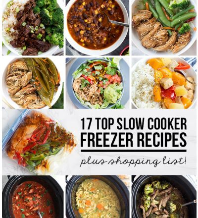 17 Top Slow Cooker Freezer Recipes via www.thirtyhandmadedays.com