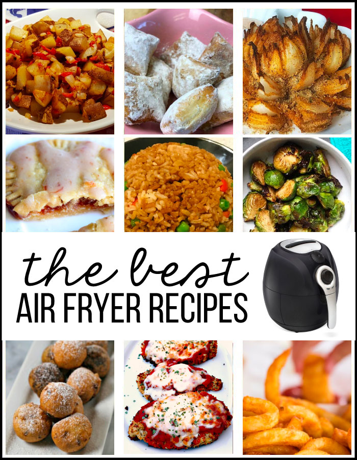 The Best Air Fryer Recipes - start out with these ones! www.thirtyhandmadedays.com