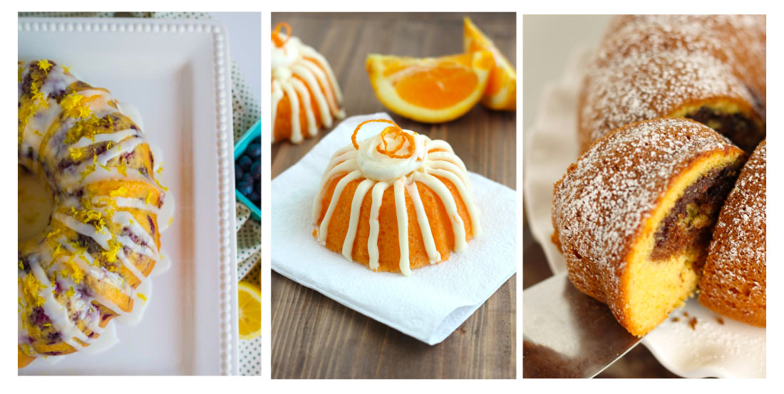 Bundt Cake Recipes - try out these bundt cakes!