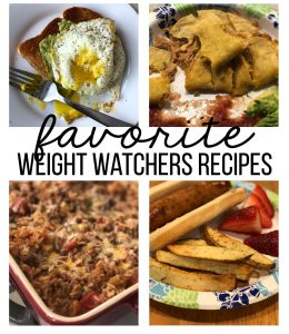 My favorite Weight Watchers Recipes www.thirtyhandmadedays.com