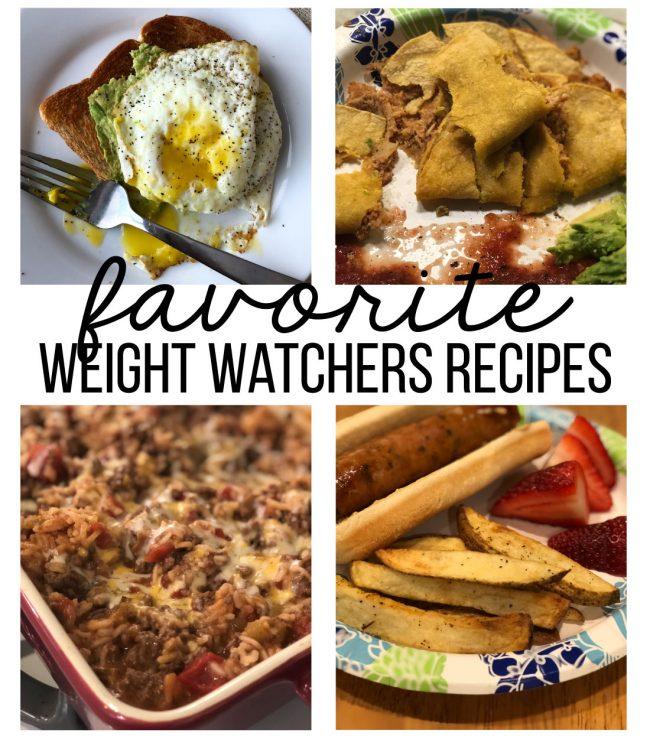 My favorite Weight Watchers Recipes www.thirtyhandmadedays.com