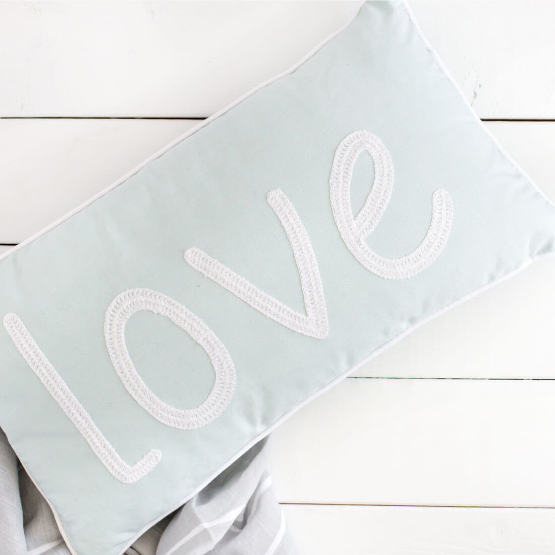 How to teach acceptance and love - love pillow
