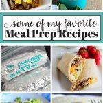 Some of my favorite Meal Prep Recipes from www.thirtyhandmadedays.com