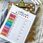 Printable Weekly Meal Planner - use this to get your calendar ready for meal prep. from www.thirtyhandmadedays.com