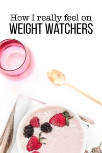 How I really feel on Weight Watchers - midway point www.thirtyhandmadedays.com