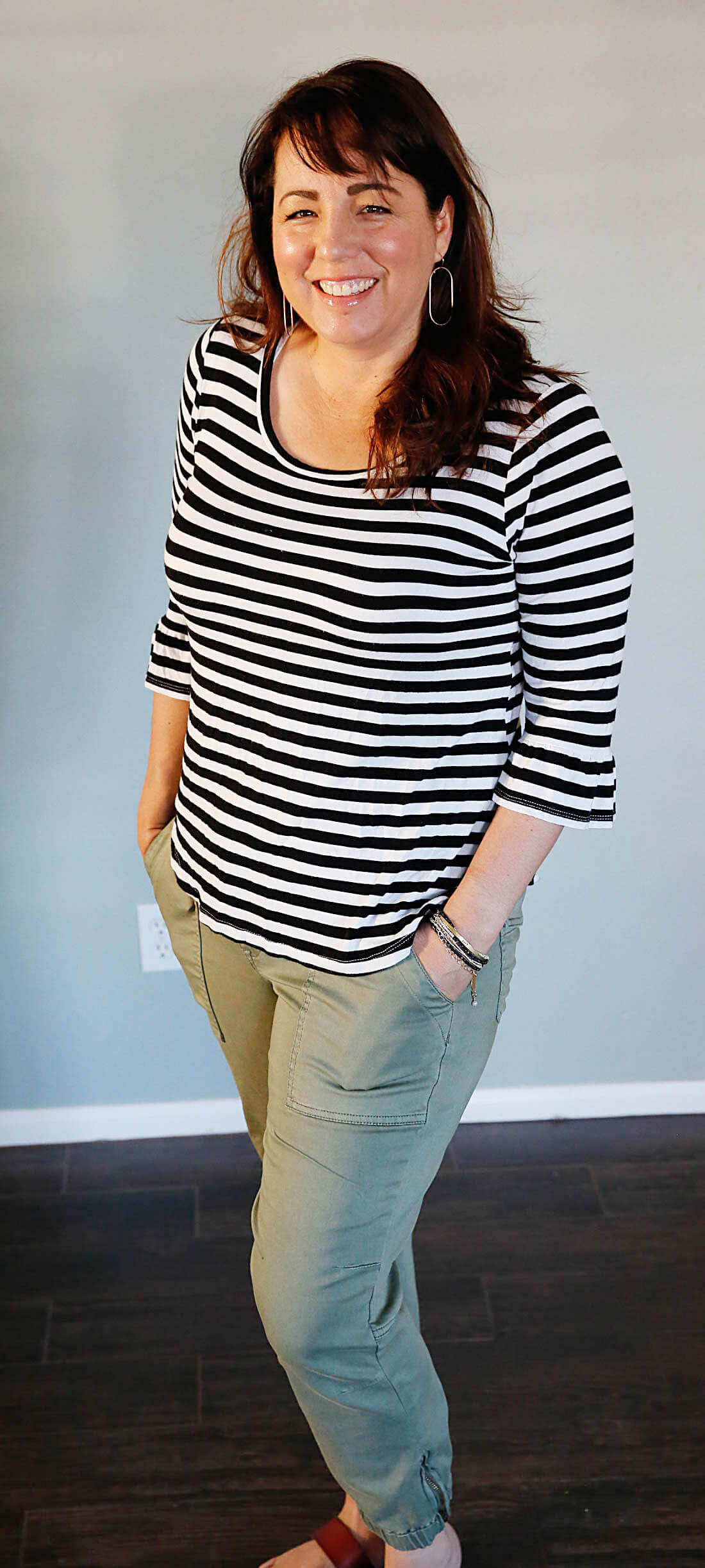 One more Stitch Fix Review - awesome olive pants