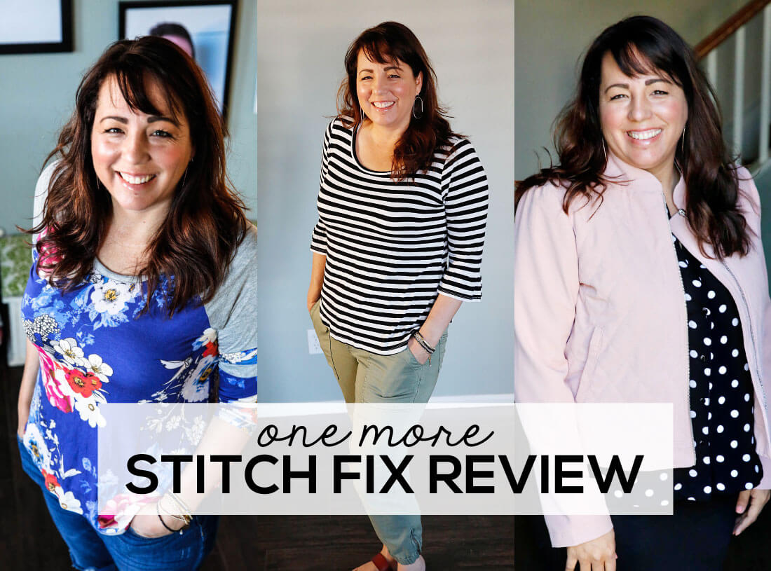 One more Stitch Fix Review - see what I kept and what I sent back. www.thirtyhandmadedays.com