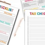 Printable Tax Forms - use these forms to keep track for taxes
