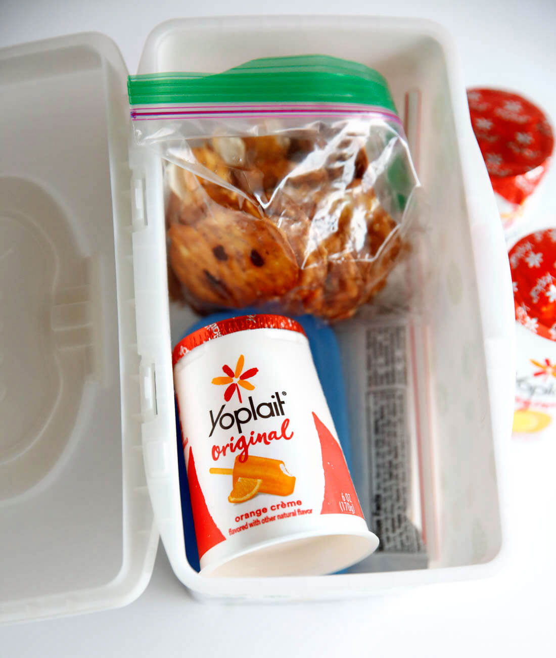 Yoplait Yogurt yogurt bites for Spring Break Road Trip Hacks via www.thirtyhandmadedays.com