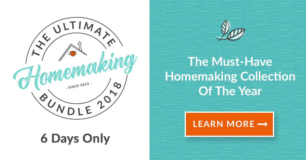 the Ultimate Homemaking Bundle - so much value in one bundle!