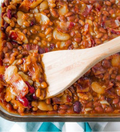 Delicious Baked Beans recipe – perfect for a summer barbecue! from www.thirtyhandmadedays.com