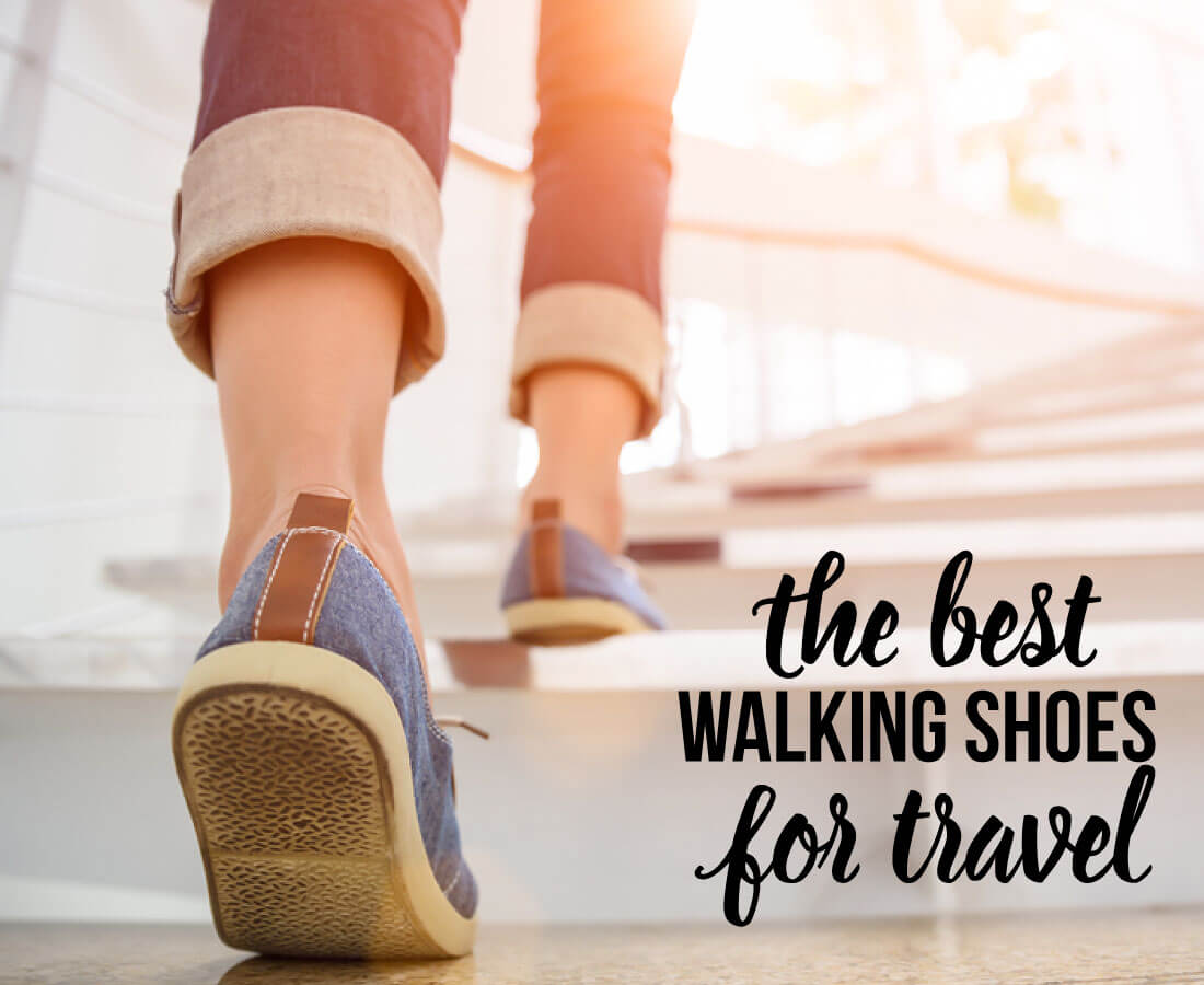Best Walking Shoes for Travel - these are my go to shoes that I take with me while traveling!