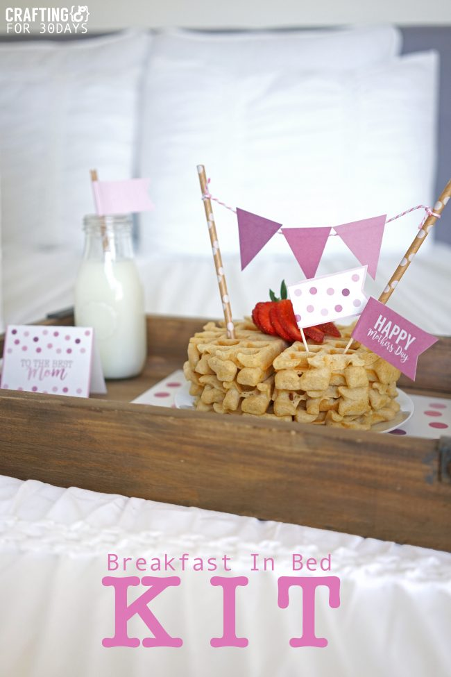Breakfast in Bed Kit for Mother's Day