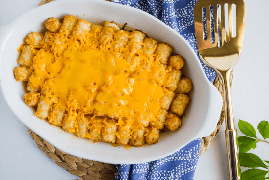 Easy Dinner Recipes For Family Tatertot Casserole