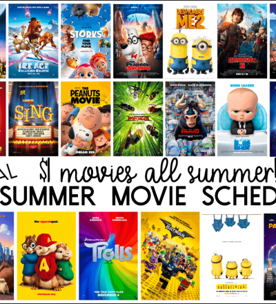 Regal Theater Summer Movies Express - $1 movies all summer long!