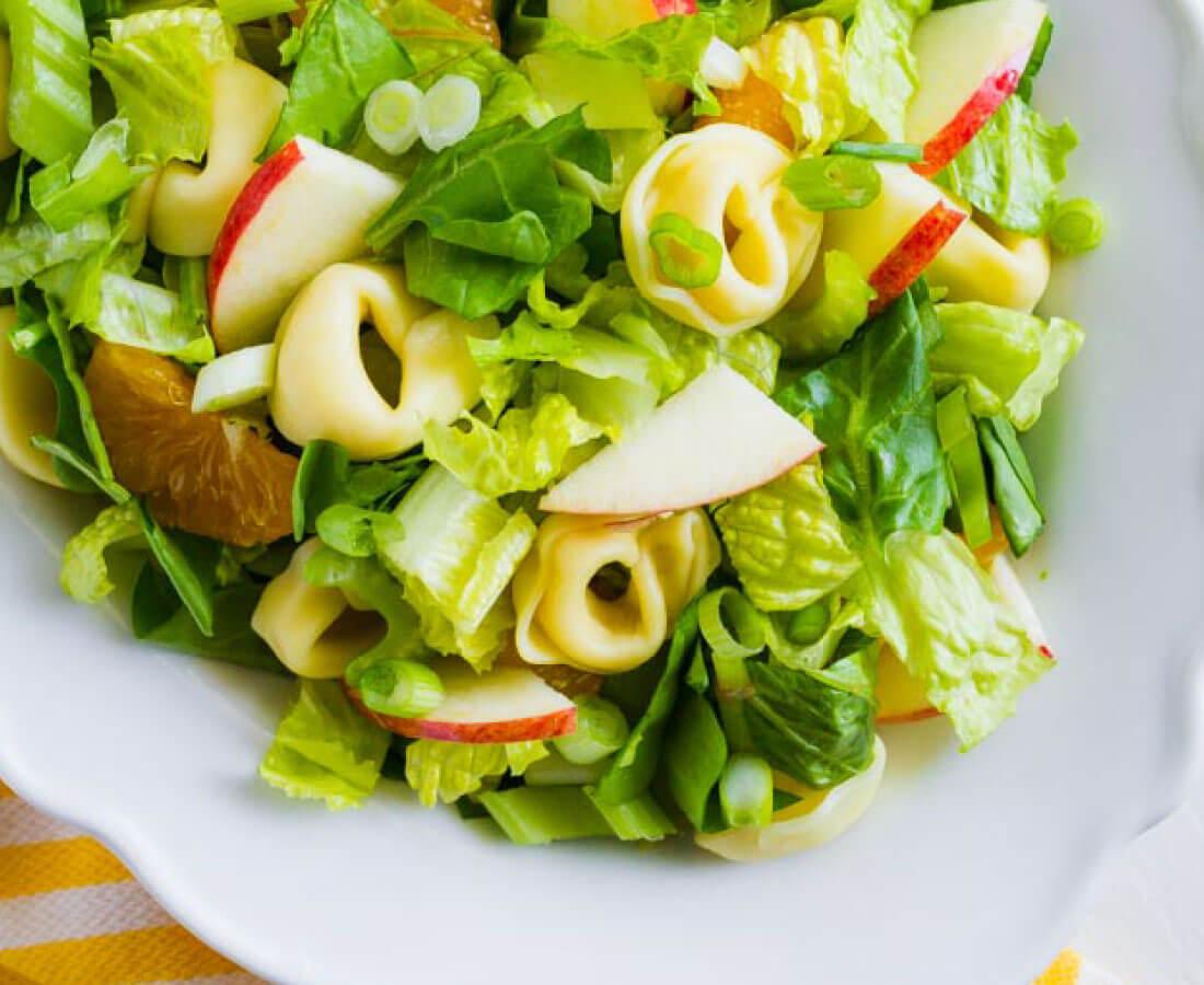Tortellini Salad - a different take on salad! It has all kind of good ingredients in it. www.thirtyhandmadedays.com