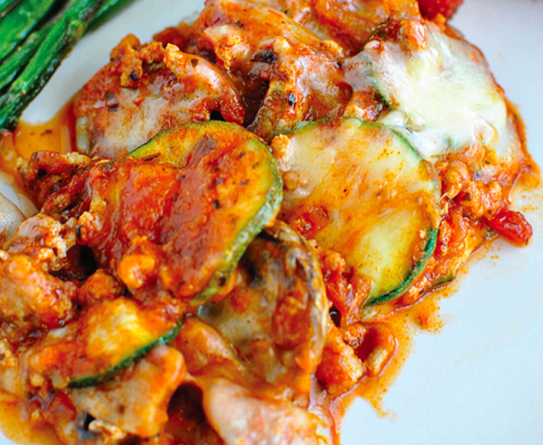 Healthy Dinners - Zucchini Lasagna