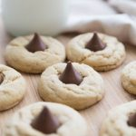 Peanut Butter Blossoms - super easy to make but oh so good. You'll love this cookie recipe!