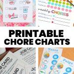 Printable Chore Chart Ideas