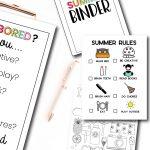 Printable Summer Bundle with over 15 editable files www.thirtyhandmadedays.com