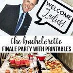 the Bachelorette Finale - includes printables to throw a party.