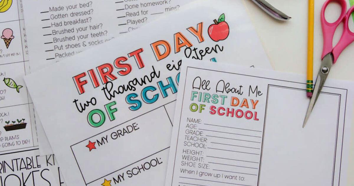 kids daily checklist