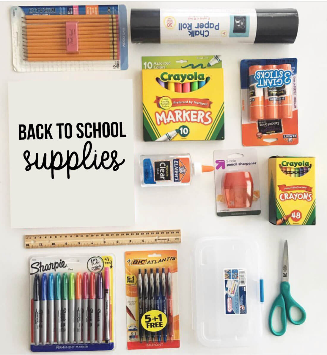 Back to School Supplies - use this guide to get the best deals for back to school.