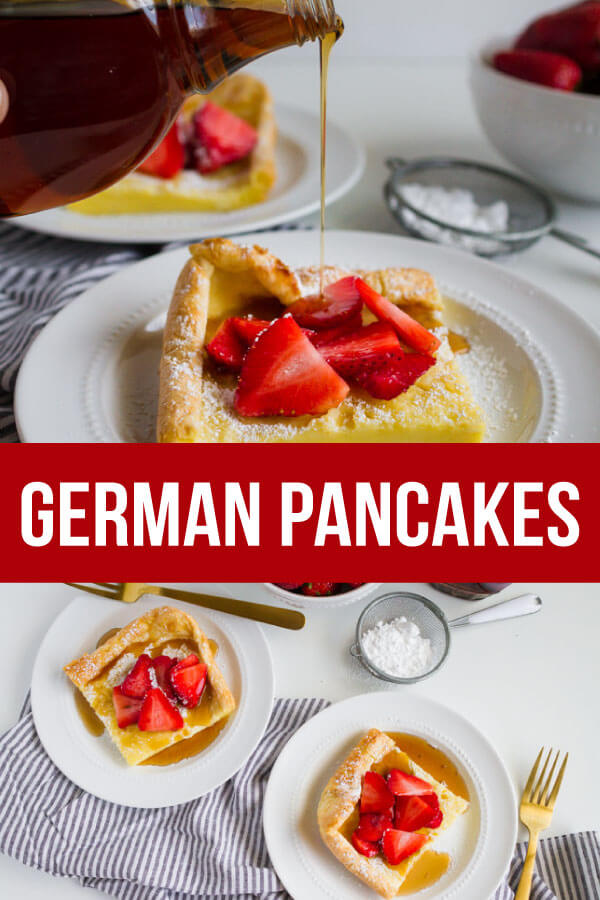 German Pancakes or Dutch Baby recipe - an old family favorite that we love to make for breakfast. www.thirtyhandmadedays.com