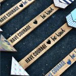 Girls Camp Crafts - learn how to make these cute arrows.