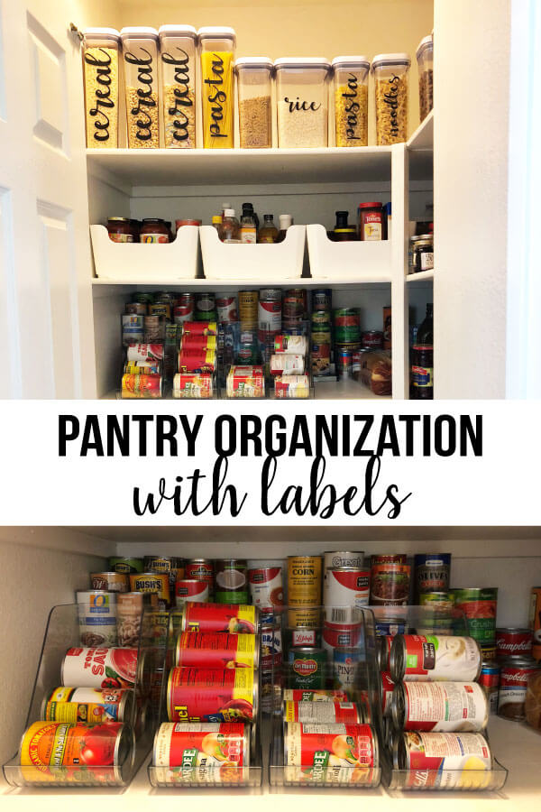Pantry Organization - how to make your pantry look good and be more functional.