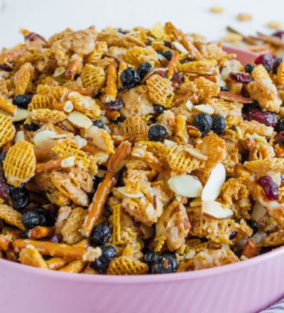 Salty and Sweet Party Mix - the perfect treat for a party, for a snack or just because.