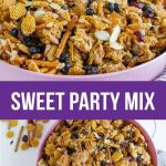 Salty and Sweet Party Mix - the perfect treat for a party, for a snack or just because. www.thirtyhandmadedays.com