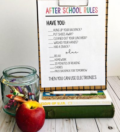 After School Rules