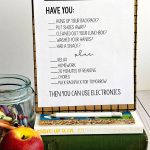 After School Rules - print out this sheet and use to help your afternoons run smoother. www.thirtyhandmadedays.com
