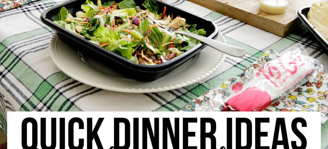 Easy Dinners for Busy Weeknights