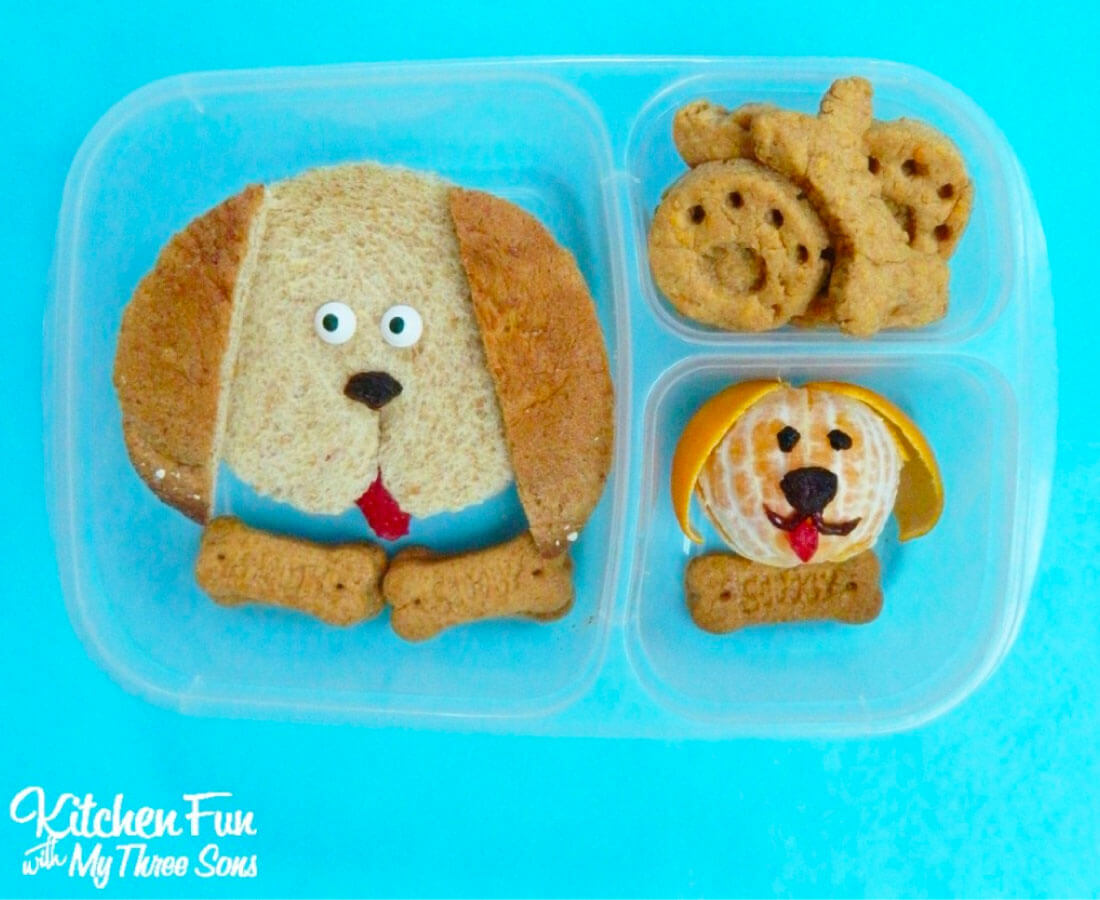 Bento Box - make this cute puppy lunch