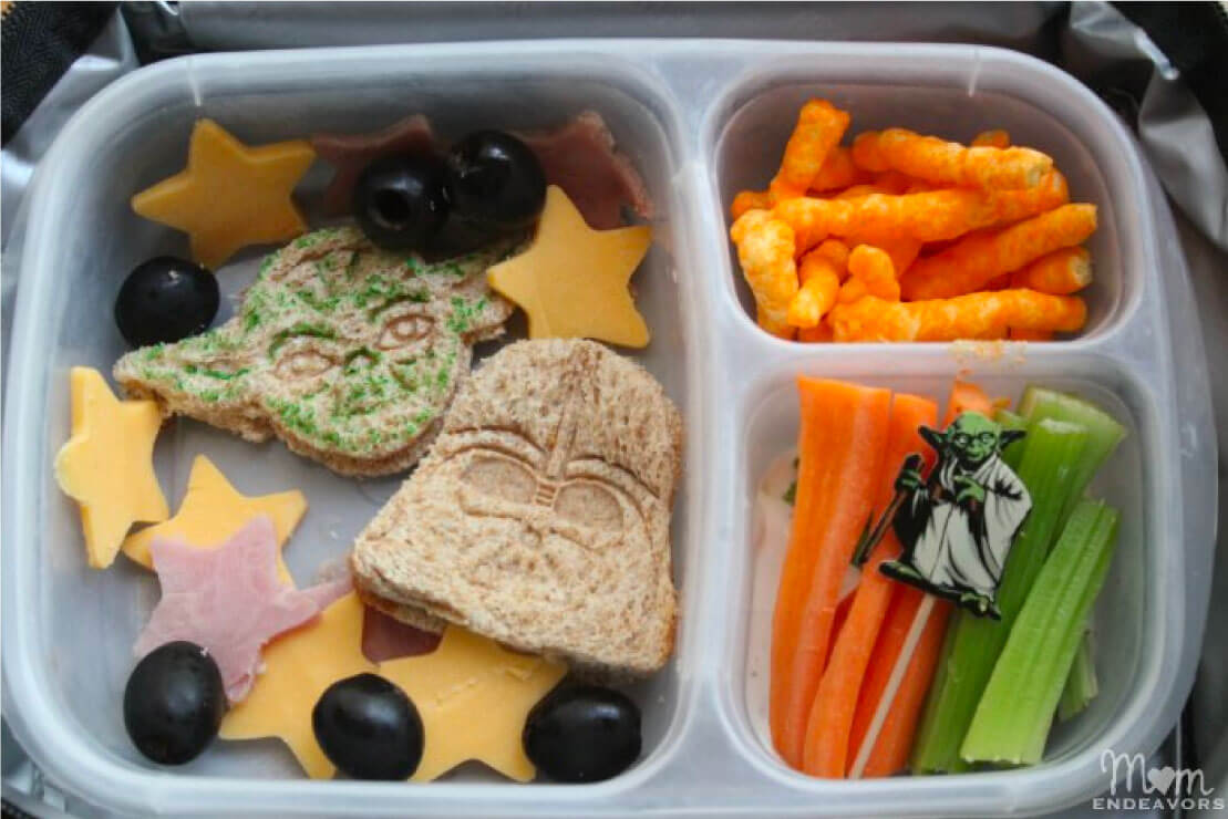 Kids Bento Box - make this awesome Star Wars lunch