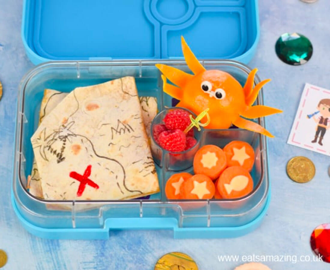 Kids Bento Box - make this cute fun lunch