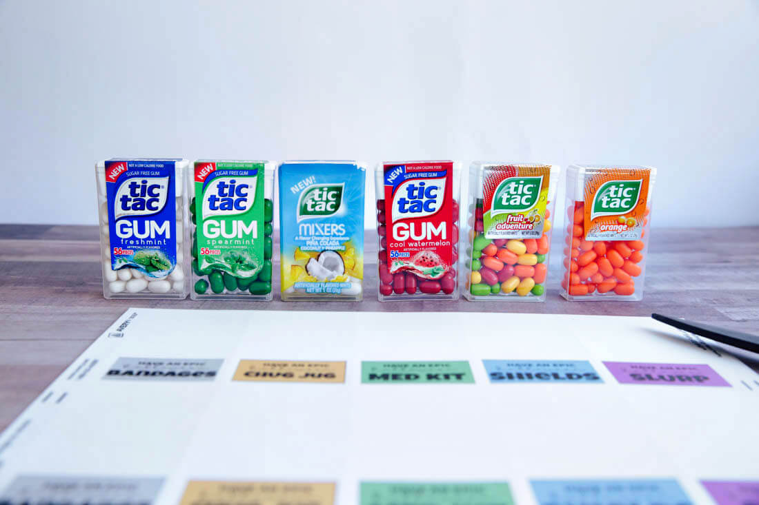 Tic Tacs for FortNite treats