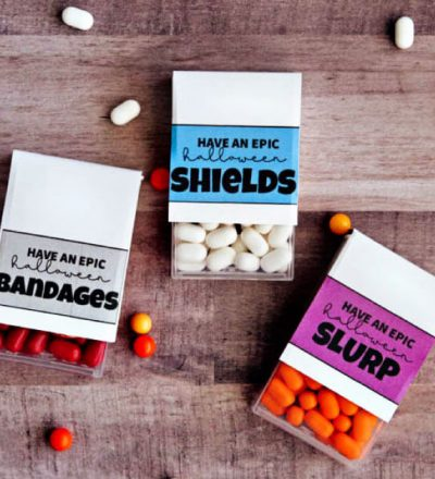 FortNite Halloween Treats - your game players will love these labels to add to TicTacs. from www.thirtyhandmadedays.com