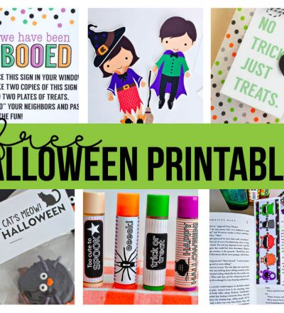 Free Halloween Printables - download and use these for the holidays!