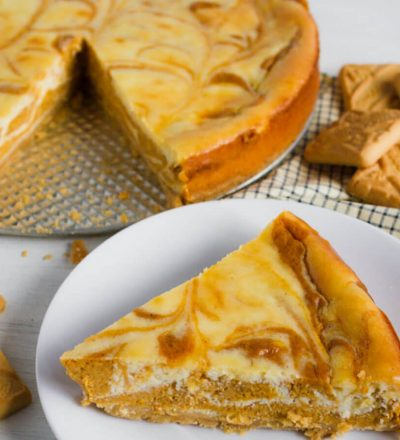 Pumpkin Pie Cheesecake - combining two loves of pumpkin and cheesecake for the perfect dessert.