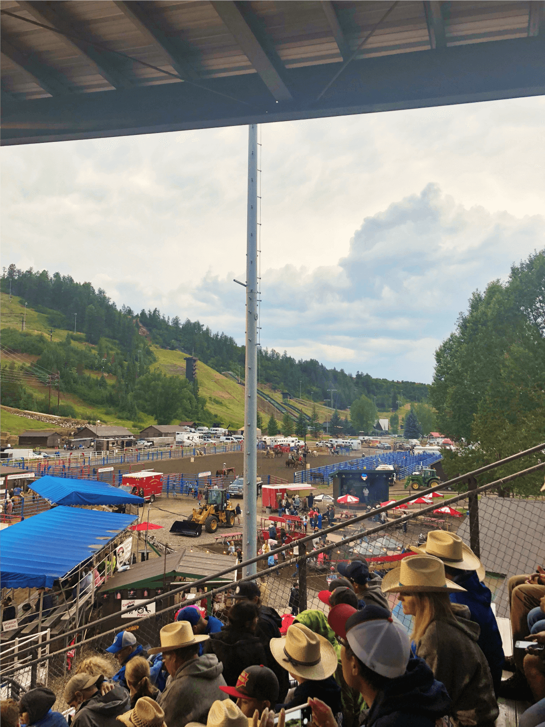 Going to the rodeo at Steamboat Springs
