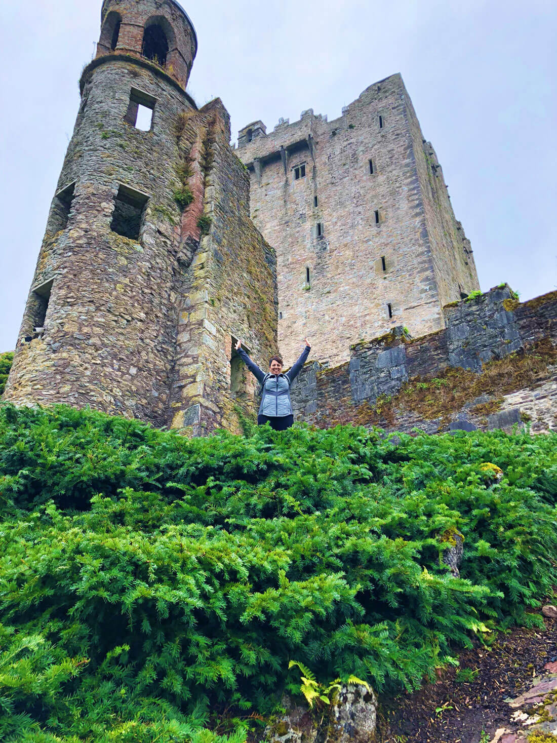 Visiting the Blarney Castle in Ireland